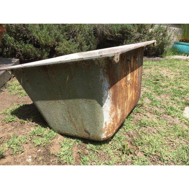 Cast Iron Antique Salvage Utility Sink - Image 3 of 12
