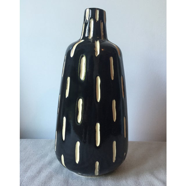 Mid-Century Studio Pottery Ceramic Vase - Image 2 of 4