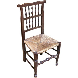 18th Century English Oak Chair