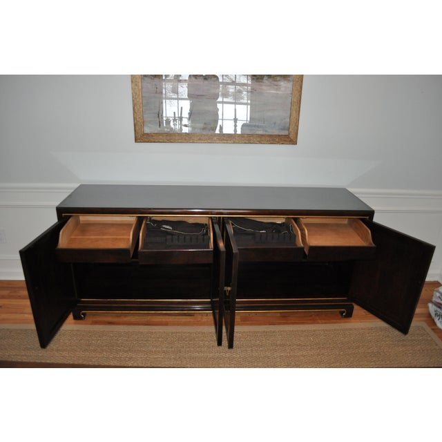 Image of Hollywood Regency Chinoiserie Widdicomb Credenza