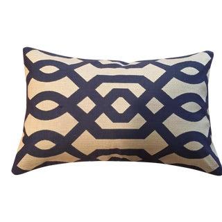 Moden Geometric Bolster Pillows - A Pair