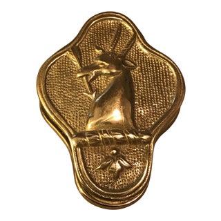 Colonial Williamsburg Virginia Metalcrafters Brass Randolph Paper Clip