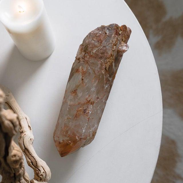 Hematite & Iron Marbling Quartz Crystal - Image 2 of 5