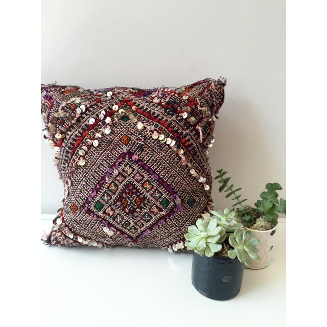 Moroccan Dhurrie Pillow - Image 6 of 8