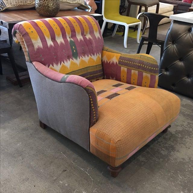 Bohemian Cisco Lounge Chair Chairish