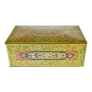 Art Deco Wilson & Co Soap Dept Tin Soap Box Humidor