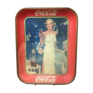 Vintage Coca Cola Advertising Tray C. 1935