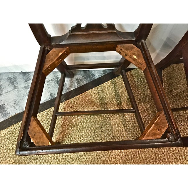 Antique 18th C. Georgian Side Chairs - A Pair - Image 5 of 7