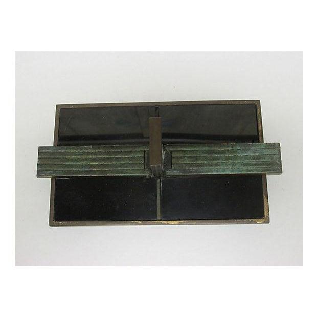Art Deco Bronze Catchall - Image 7 of 8