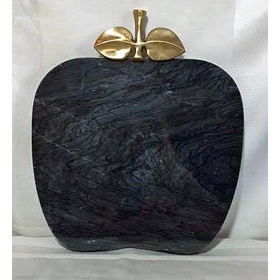 Vintage Black Marble Serving Tray - Image 2 of 5