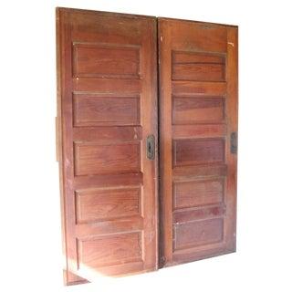 Antique Pocket Doors - A Pair