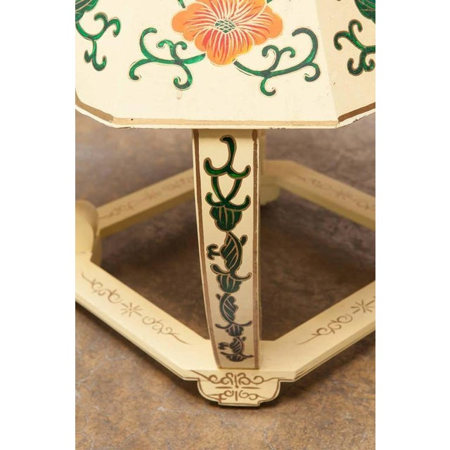 Chinese Lacquered Garden Stool - Image 8 of 10