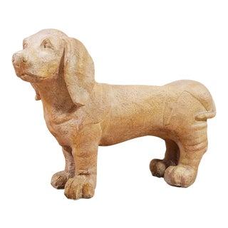 Vintage Dachshund Dog Bench