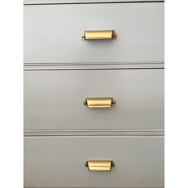 Gray Nightstands - A Pair - Image 5 of 5