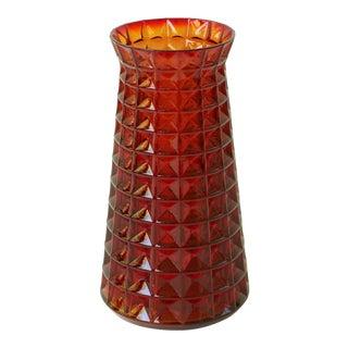 Paul Kedelv Reijmyre Waffle Glass Vase