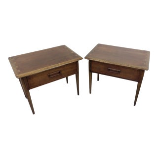 Mid-Century Lane Acclaim Side Tables - A Pair