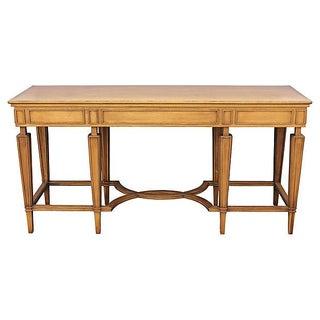 Mid-Century Italian Console Table