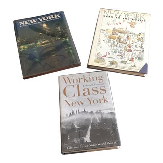 Vintage New York Themed Books - Set of 3