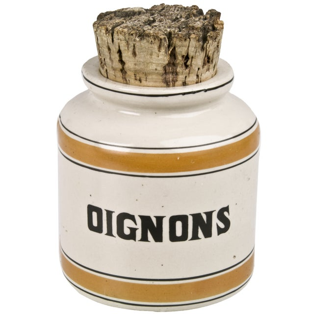 Vintage French Onion Crock - Image 1 of 2
