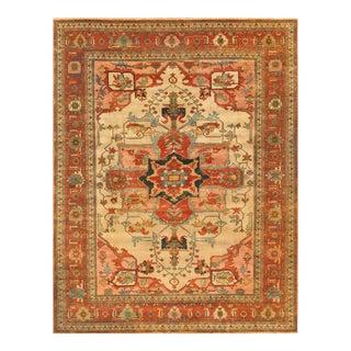 """Pasargad Serapi Wool Area Rug - 5' 0"""" X 6'11"""""""