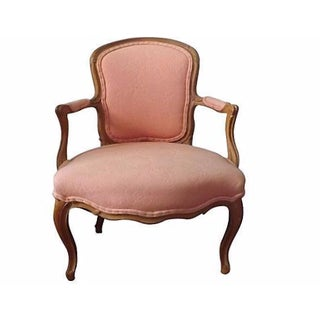 Louis XV Period Fauteuil Chair