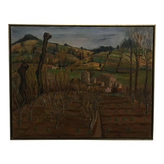 Thalia Wescott Malcolm Landscape Oil on Canvas Painting
