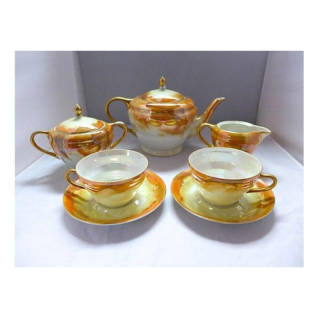 Lusterware Tea for Two Set - Image 2 of 8