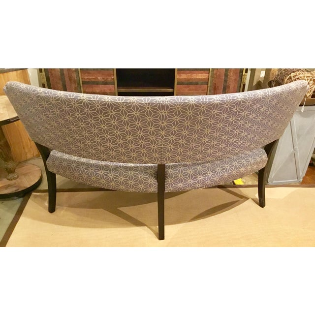Drexel Heritage Curved Dining Bench - Image 2 of 4