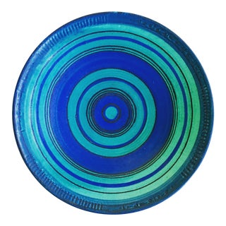 Glidden Fong Chow Gulfstream Pottery Low Bowl
