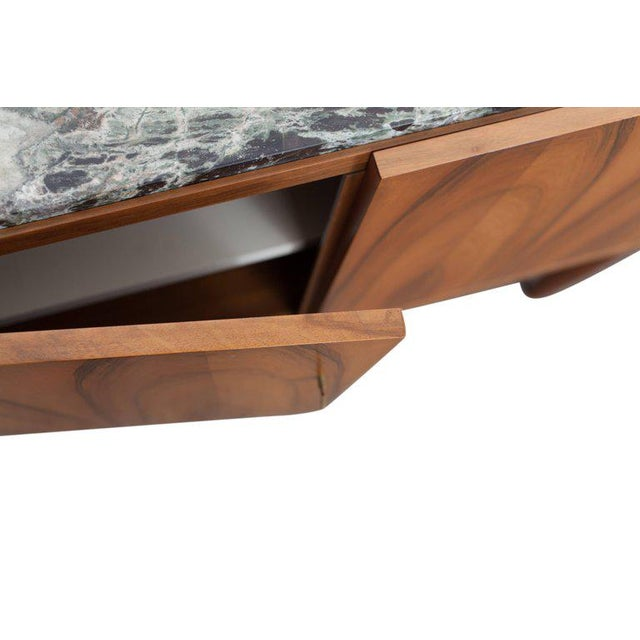 Walnut and Marble Credenza by Jos De Mey - Image 8 of 11