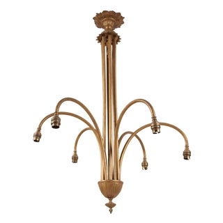 Art Deco French Chandelier