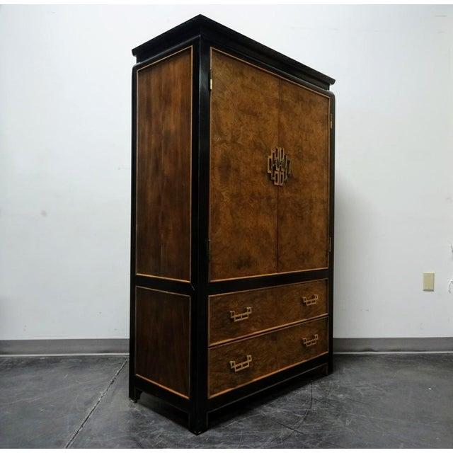 Century Furniture Co. Chin Hua Asian Style Armoire/Gentleman's Chest - Image 3 of 11