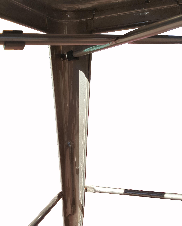 Industrial Tolix Quot Marais Quot Style Counter Bar Stools A