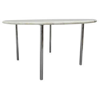 Marble-Top Dining Table Designed by Estelle and Erwin Laverne, USA, 1950s