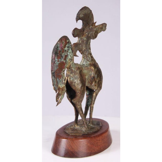 Brutalist Bronze Horse Sculpture by Bill Lett - Image 4 of 6