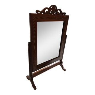 Traditional Mahogany Table Mirror