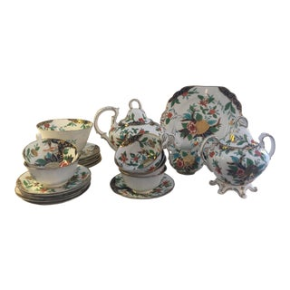 English Porcelain Tea Set - Service for 6
