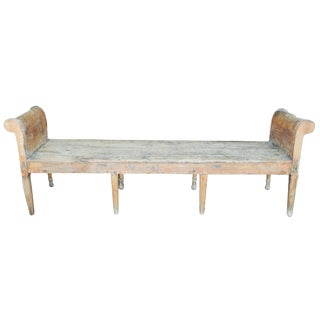Early Long Pine Bench