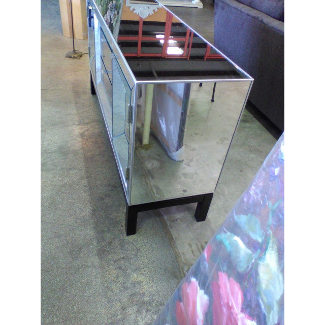 Art Deco Style Mirrored Cabinet/Sideboard - Image 5 of 7