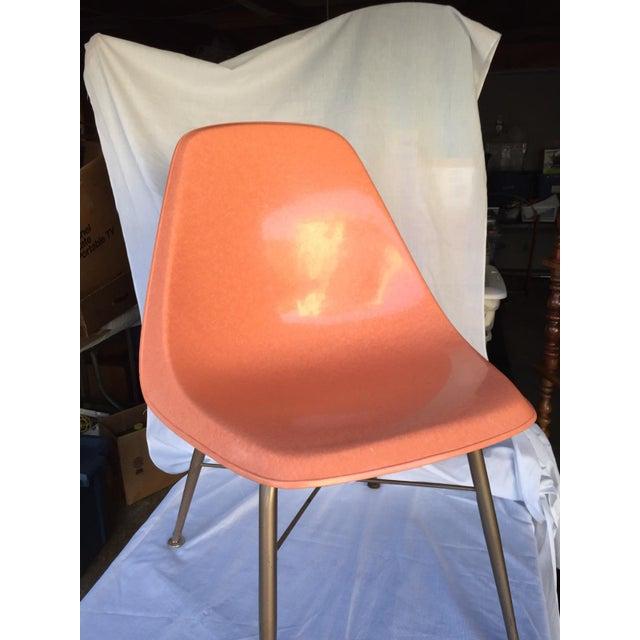 Image of Mid-Century Fiberglass Shell Chair