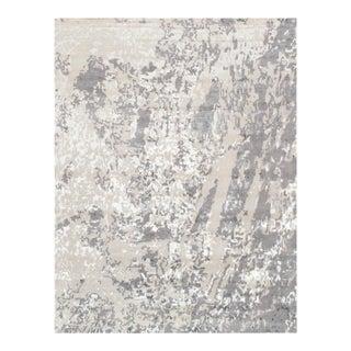 "Pasargad Modern Silk & Wool Area Rug - 8' 0"" X 9'10"""