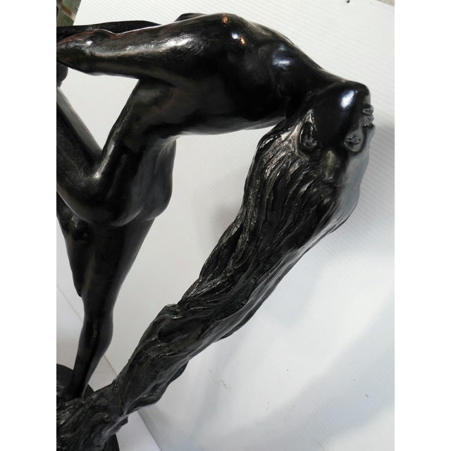 """Sultry Awakening"" Sculpture by Klara Sever 1979 - Image 6 of 9"