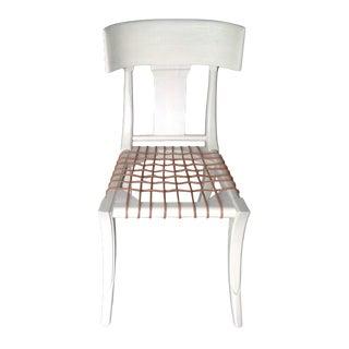 Klismos Style Custom Finish Dining Chair