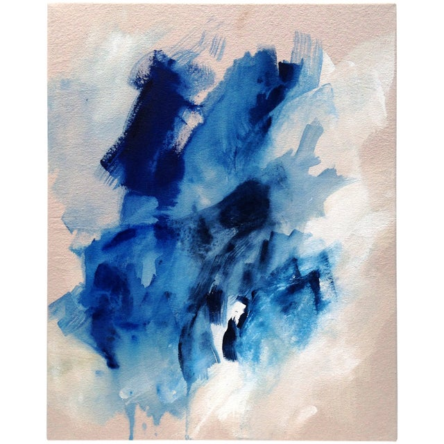 """Image of Dani Schafer """"Searching I"""" 2016 Abstract Painting"""