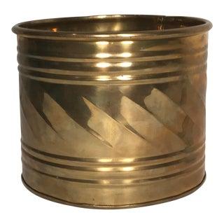 Decorative Boho Brass Planter