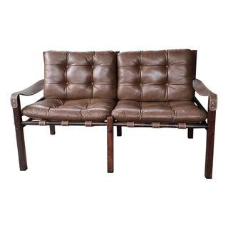Arne Norell Style Safari Love Seat