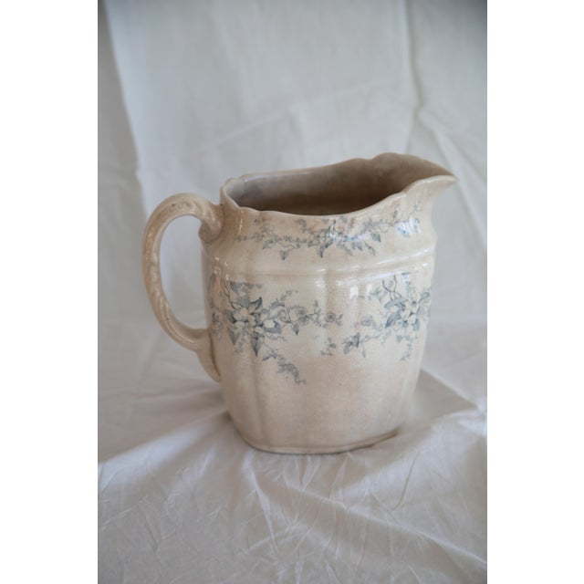 Antique English Transferware Pitcher - Image 3 of 8