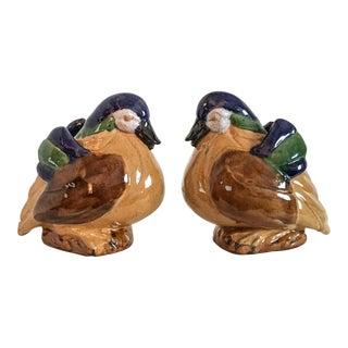Vintage Duck Statuettes - A Pair