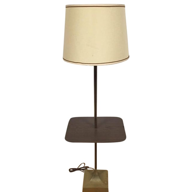 Mid-Century Table Floor Lamp - Image 1 of 8