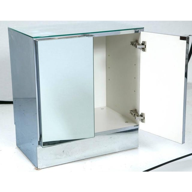 Mid-Century Mirrored Night Stands by Ello Furniture - Image 4 of 6